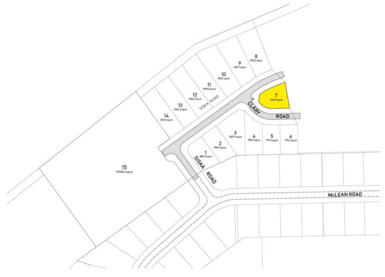 Clary Development Glentanna Ridge Lot 07 Plan