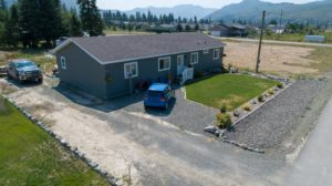 Clary Development Glentanna Ridge 440 Siska Drive UAV Aerial Photo facing south west