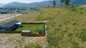 Clary Development Glentanna Ridge 445 Siska Drive UAV Aerial Photo fence facing west