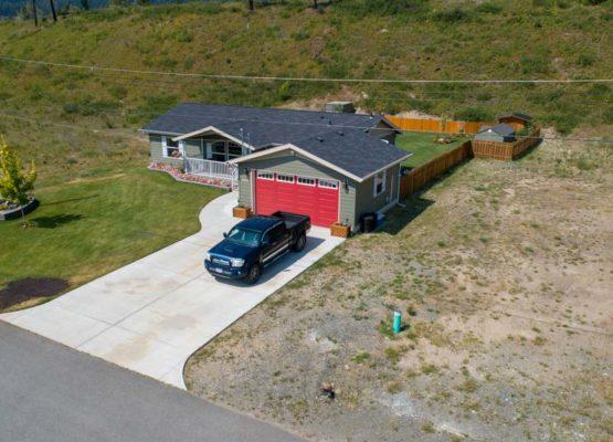 Clary Development Glentanna Ridge 445 Siska Drive UAV Aerial Photo facing north west