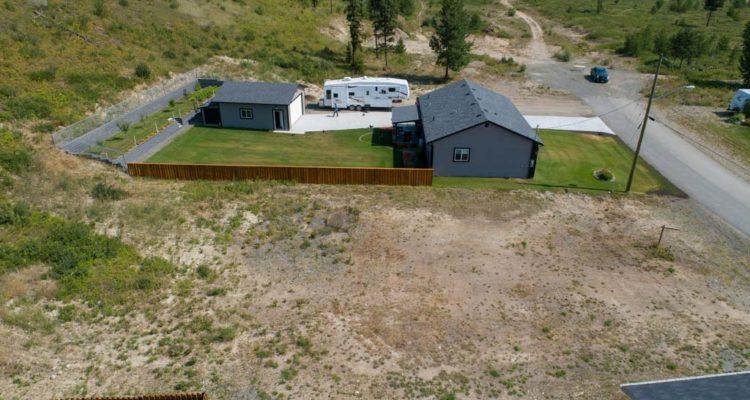 Clary Development Glentanna Ridge 449 Siska Drive Aerial Photo facing east