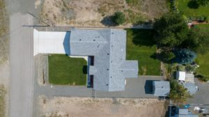Clary Development Glentanna Ridge 452 Clary Road UAV Aerial View birds eye view 90m