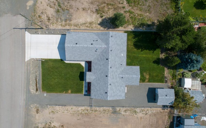 Clary Development Glentanna Ridge 452 Clary Road UAV Aerial View birds eye view 90m