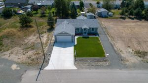 Clary Development Glentanna Ridge 452 Clary Road UAV Aerial View facing south