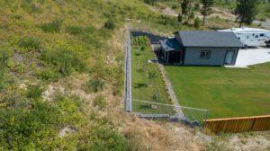 Clary Development Glentanna Ridge 453 Siska Drive UAV Aerial Photo retaining wall facing east 2