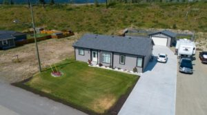 Clary Development Glentanna Ridge 453 Siska Drive UAV Aerial Photo facing north west