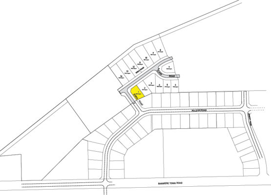 Clary Development Glentanna Ridge Phase 5 Lot 01 Plan 1