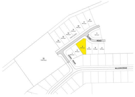 Clary Development Glentanna Ridge Lot 03 Plan