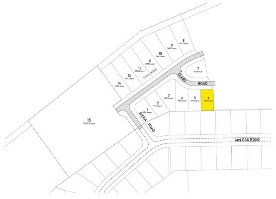 Clary Development Glentanna Ridge Lot 06 Plan