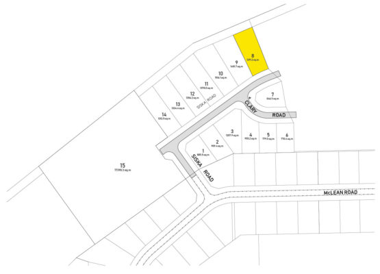 Clary Development Glentanna Ridge Lot 08 Plan