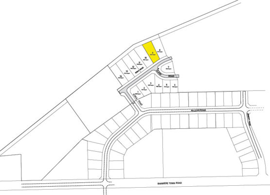 Clary Development Glentanna Ridge Phase 5 Lot 09 Plan 1