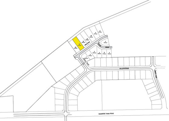 Clary Development Glentanna Ridge Phase 5 Lot 13 Plan 1