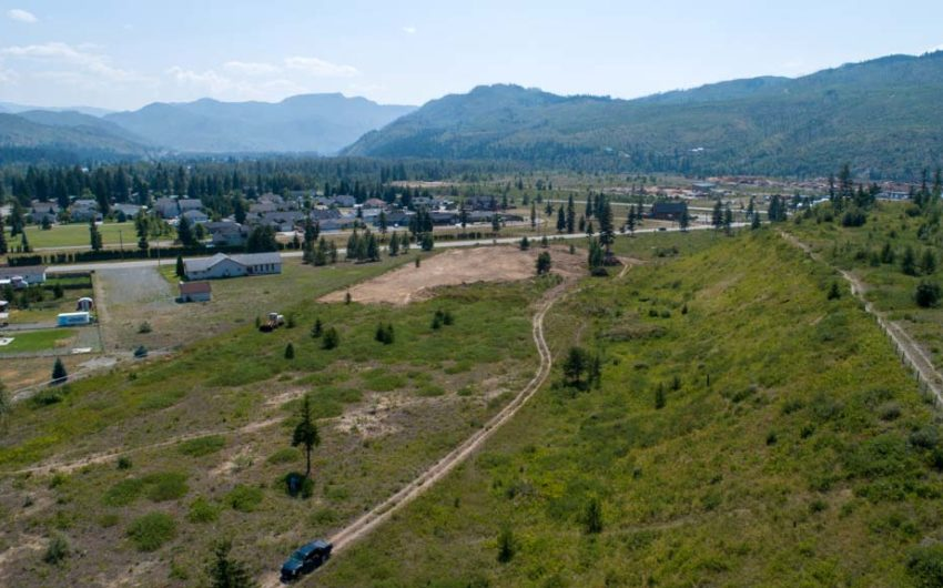 Clary Development Glentanna Ridge 5044 Barriere Town Road UAV Aerial Photo Overview 1 Facing West