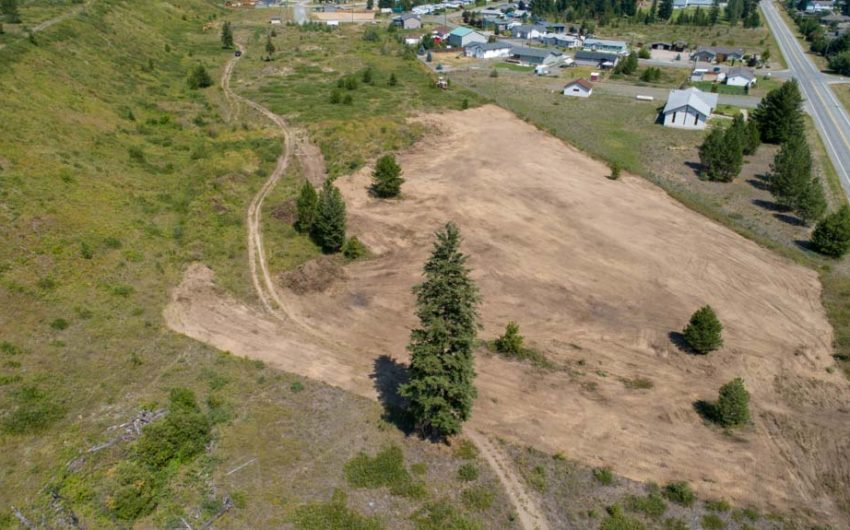 Clary Development Glentanna Ridge 5044 Barriere Town Road UAV Aerial Photo Overview 2 Facing East