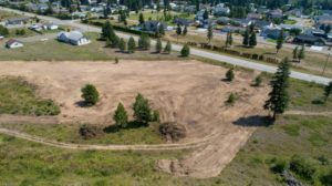 Clary Development Glentanna Ridge 5044 Barriere Town Road UAV Aerial Photo General Overview Cleared Area