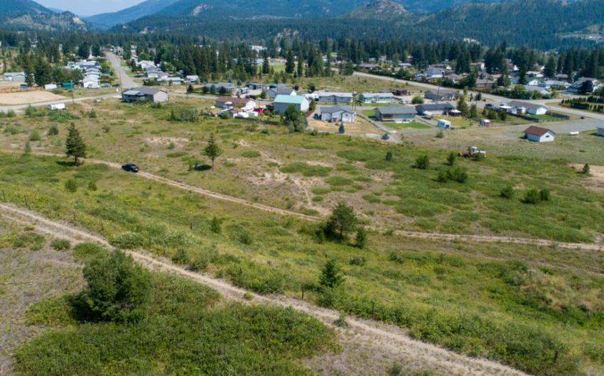 Clary Development Glentanna Ridge 5044 Barriere Town Road UAV Aerial Photo Facing East