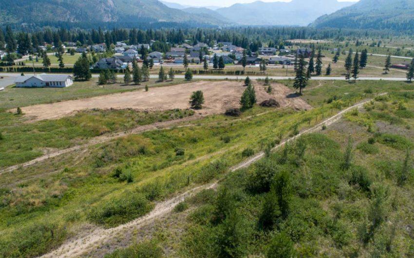 Clary Development Glentanna Ridge 5044 Barriere Town Road UAV Aerial Photo Facing South